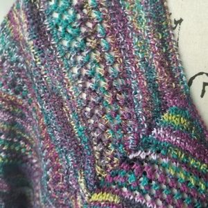 Faded Glory Sweaters - Faded Glory Multi-Colored Knit Top Size XL
